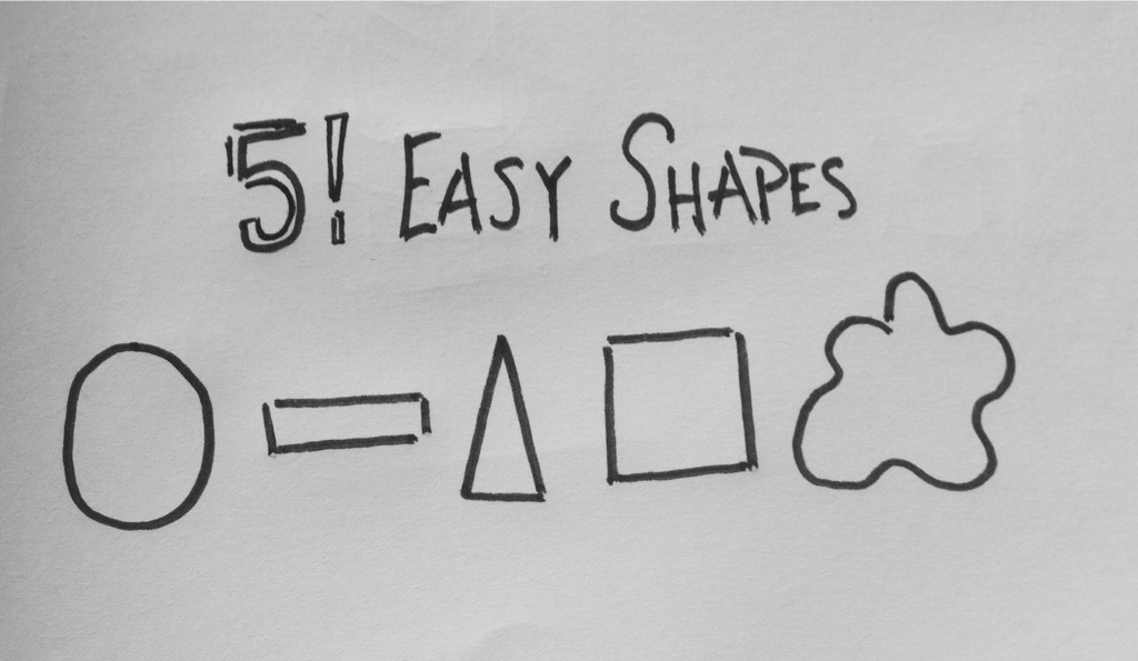 Sketchnote Starter: 5 Easy Shapes