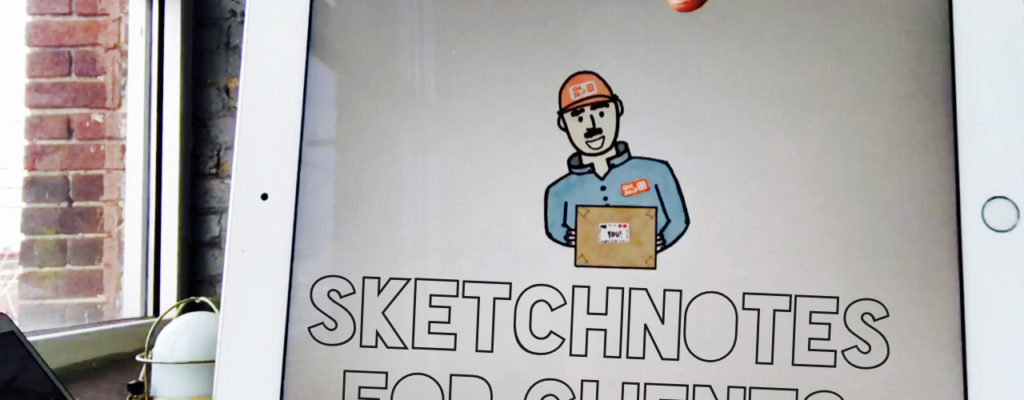 How I Create Sketchnotes for Clients